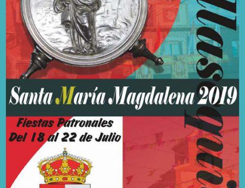 PROGRAMA SANTA MARÍA MAGDALENA 2019